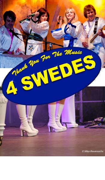 Abba Review in 4er Besetzung als 4 SWEDES